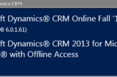 Update Rollup 1 per CRM2013 disponibile al download