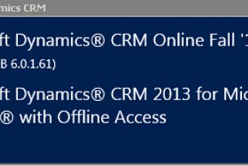 Update Rollup 1 per CRM2013 disponibile al download