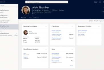 Dynamics 365 Human Resource